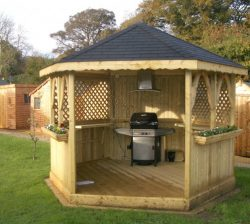 Garden Barbeque Gazebo