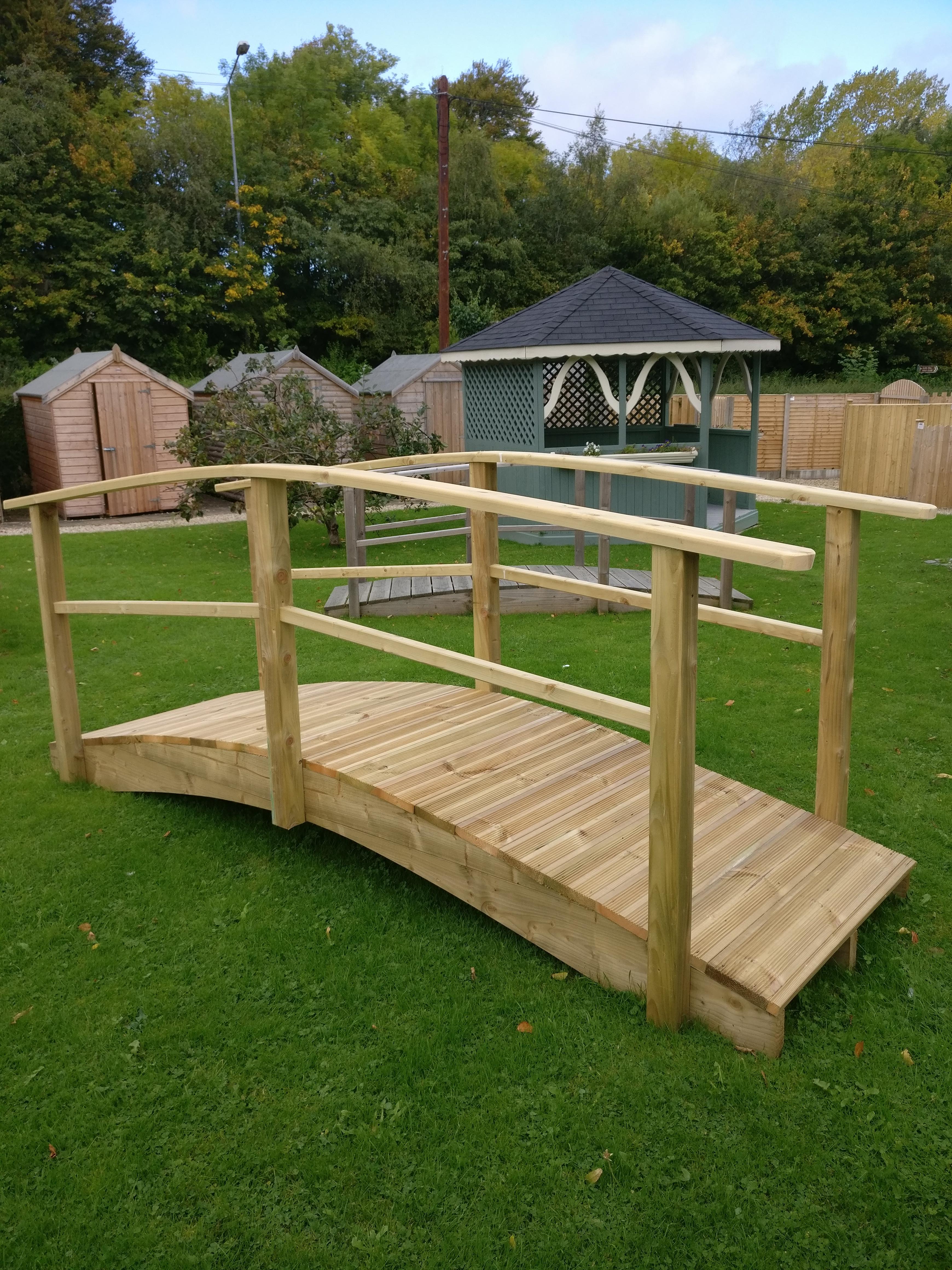 Garden Bridges Wooden Foot Bridge Abwood Homes
