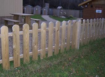 Cottage Planned Garden Fencing