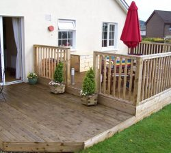 Decking sample