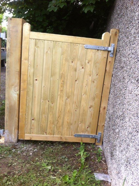 Wooden Site Gate Wooden Gates Timber Gates Abwood Ie