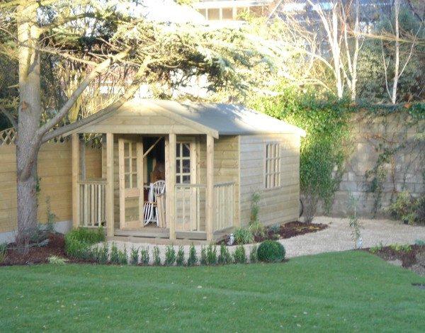 Garden georgian summerhouse