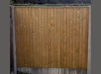 Glan Panel Fencing