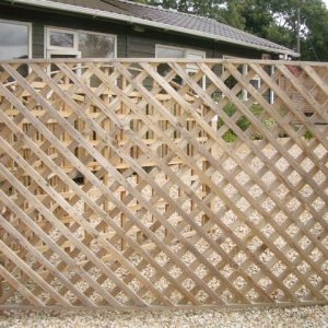 Abwood Homes Wooden Diamond Trellis for Sales