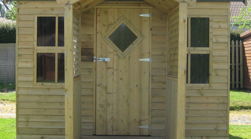 how to build and erect a garden shed