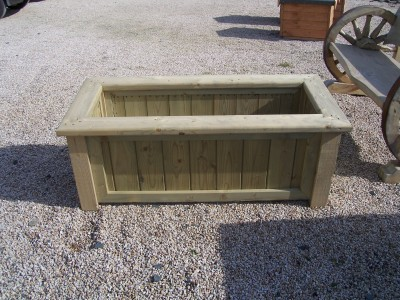 Planters Rectangular Timber Planter