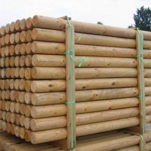 Round Timber Posts