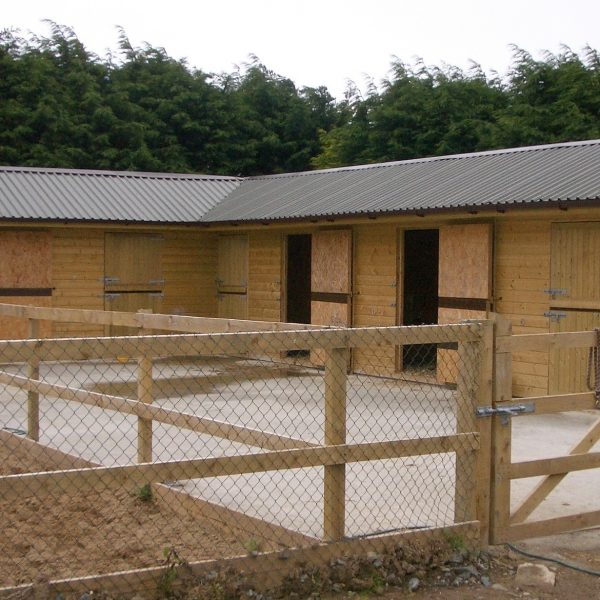 Stables For Sale L Timber Horse Stables Stables Ireland