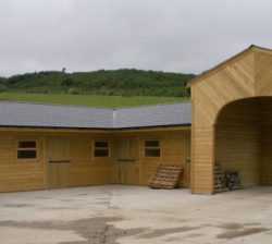 Stables and outbuildings