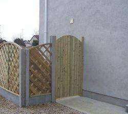 Wooden Side gates