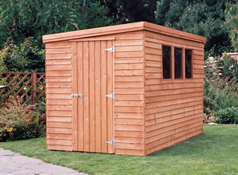 Standard Garden Shed Cabin Style