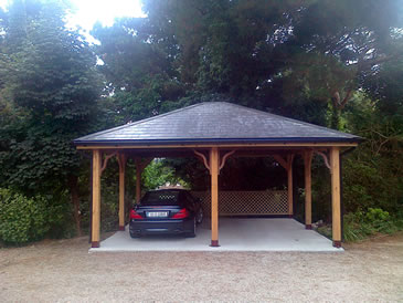 Wooden Carport Garages Timber Garages Abwoodie