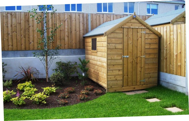 Garden Shed   Timber Shed   Wooden Shed - Abwood.ie