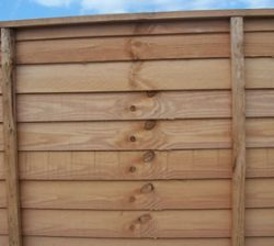 abwood shiplap fencing