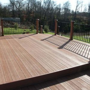 Composite Decking Area