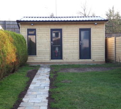 5.4m x 3.6m Partitioned Garden Room