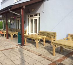 Tables And Benches, Bray Tennis Club