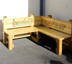 Buddy Corner Bench